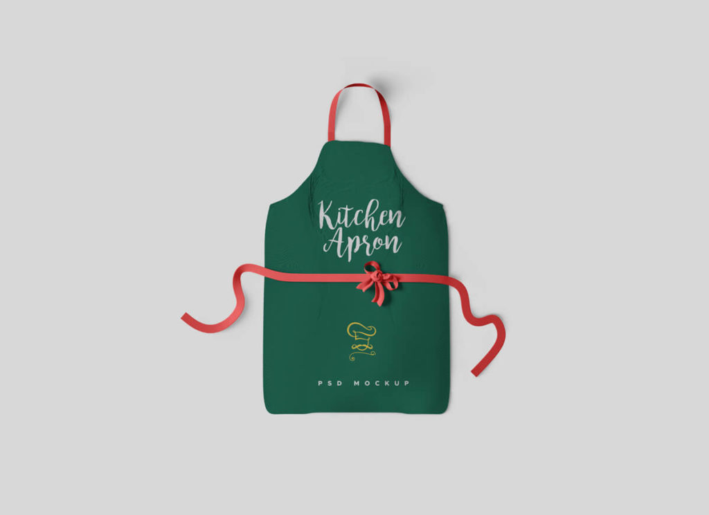 A Set of Apron-Mockup
