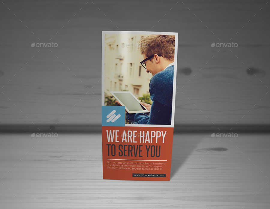 A4 Z-fold Brochure Mockup1