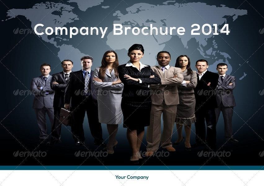 A5 Company Brochure Template