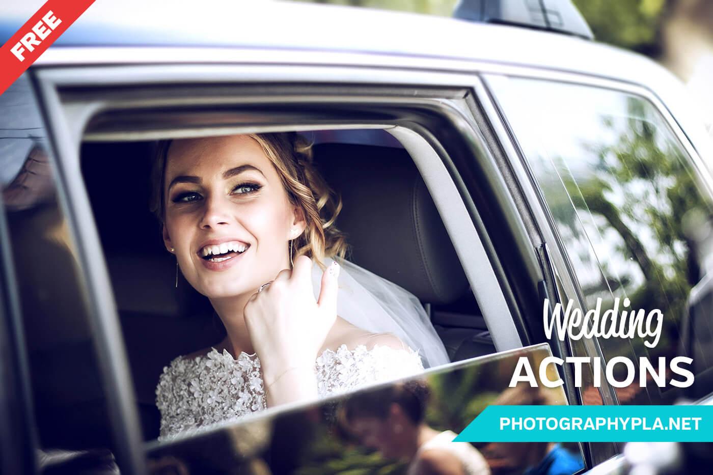 Amazing Free-Photoshop-Wedding-Actions