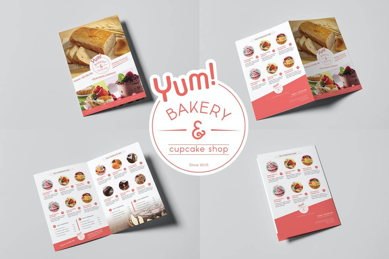 Bakery & Cupcake Shop - Menu Template (2)