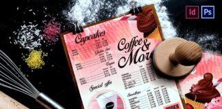 Bakery Menu Design.Vintage Style (1)