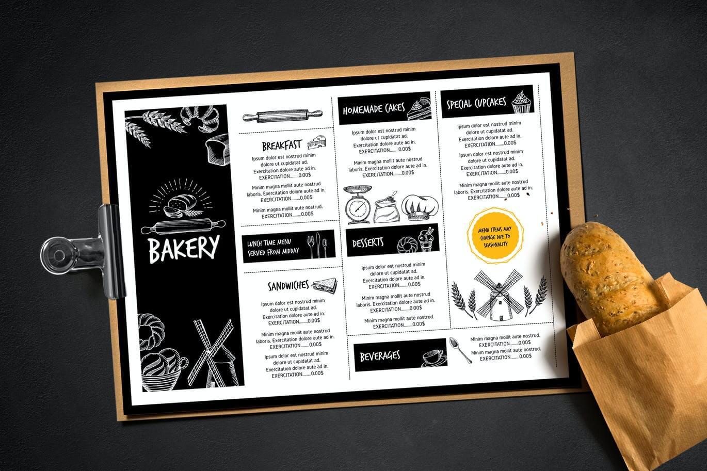 Bakery Menu Template (1)