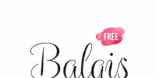 Beautiful Balqis Free Font