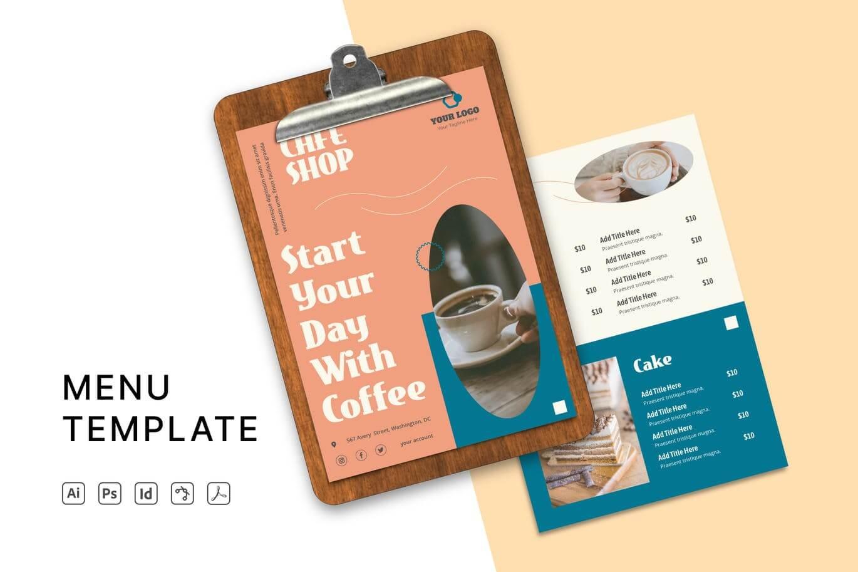 Cafe Menu Templates (2)