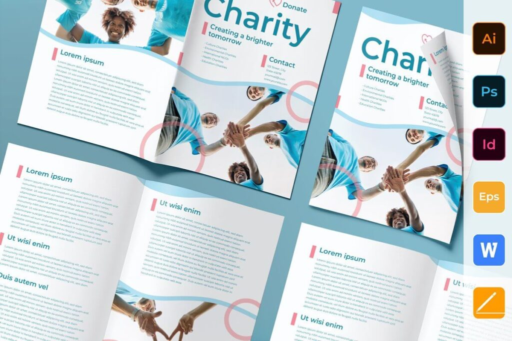Charity Brochure Bifold