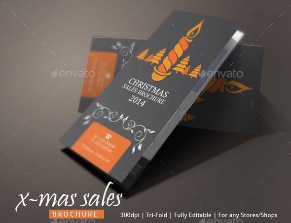 Christmas Sales Brochure Template (1)