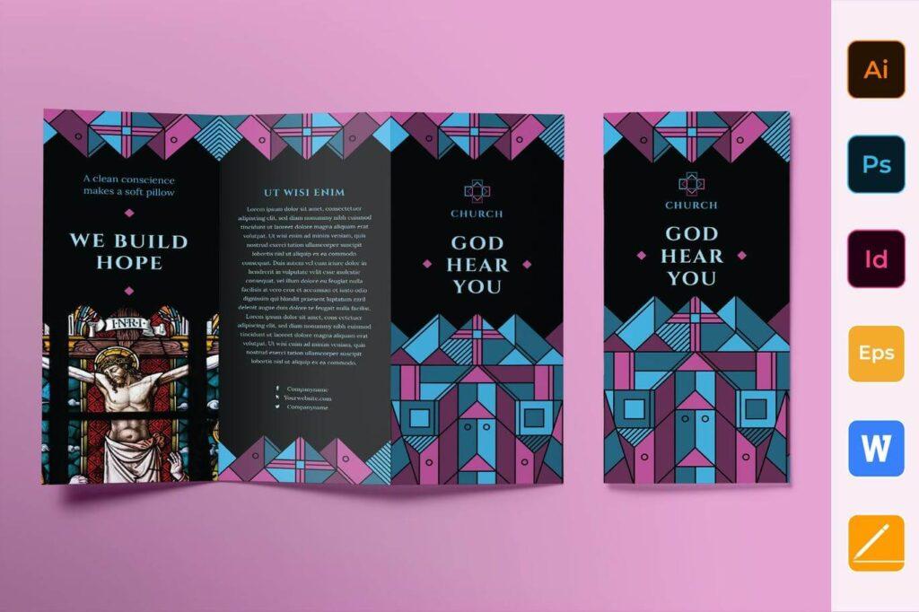 Church Brochure Trifold