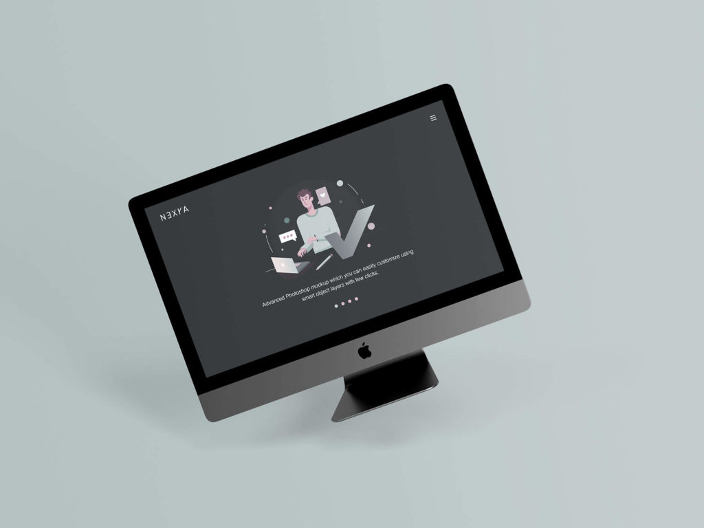 Free Website Presentation Mockup
