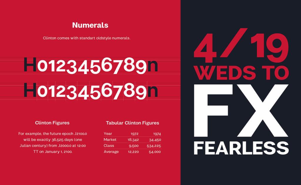 Clinton Font Family 3