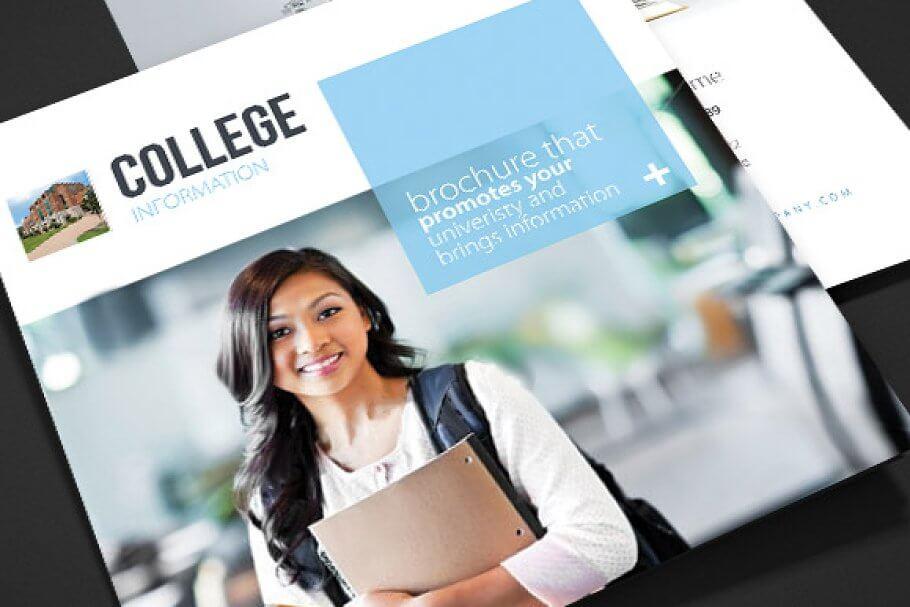 College - School Trifold Brochure
