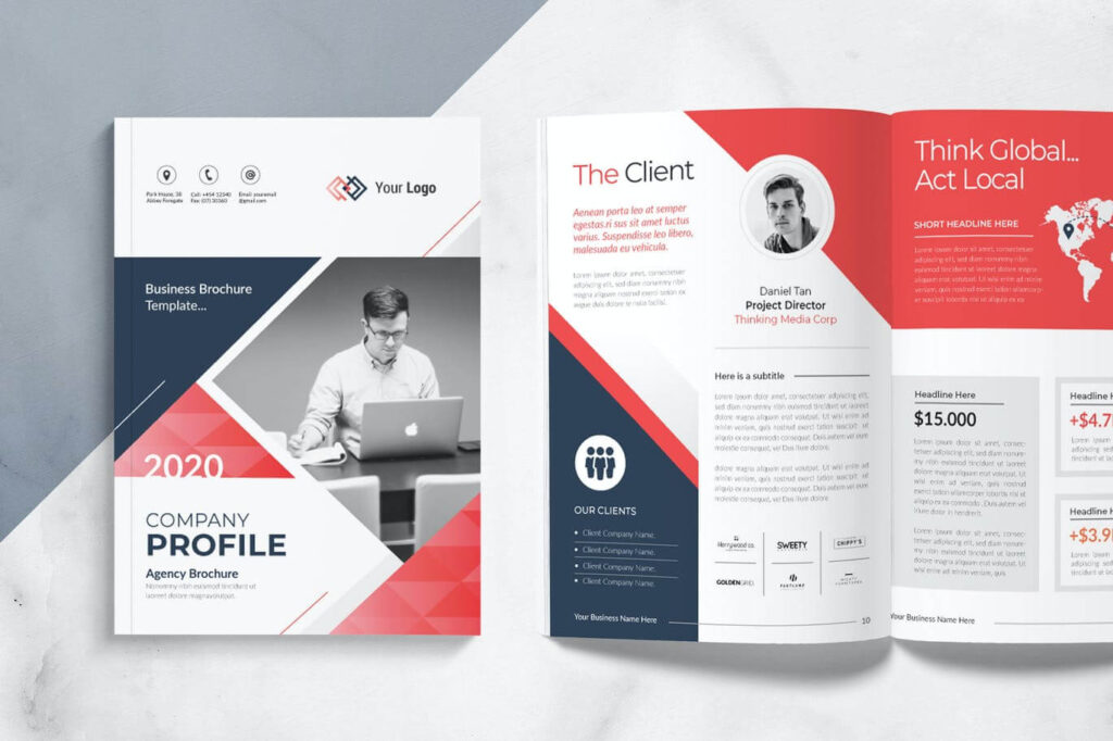 Company Brochure Template