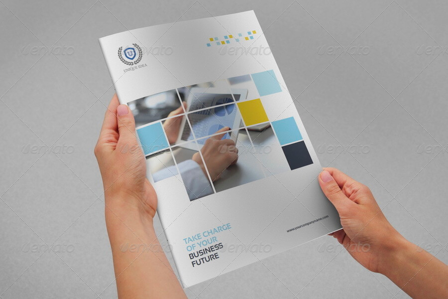 Company Brochure Template Vol.30 - 12 Pages