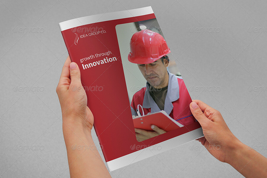Company Brochure Template Vol.36
