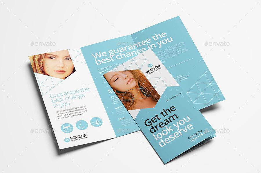Cosmetic Tri-Fold Brochure Template (1)