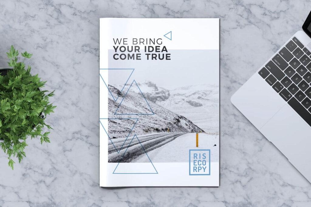 Creative Brochure Template Vol. 33