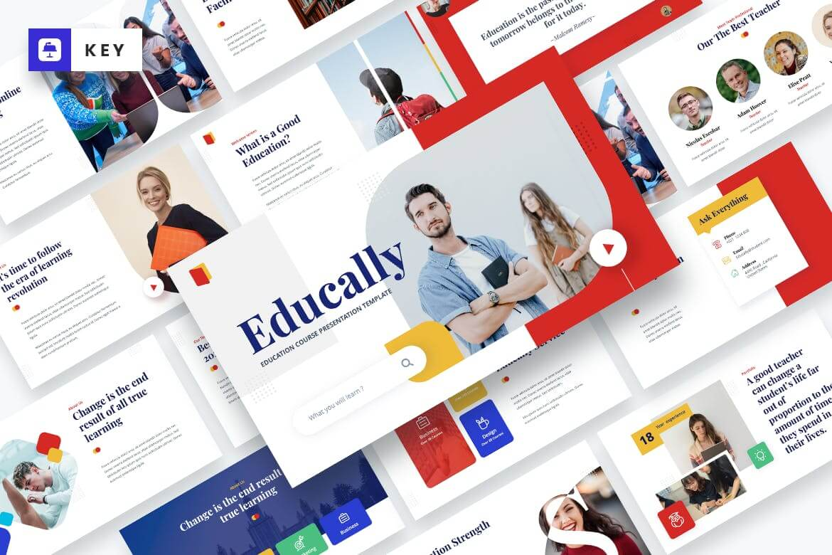 Educally - Education Course Keynote Template (1)