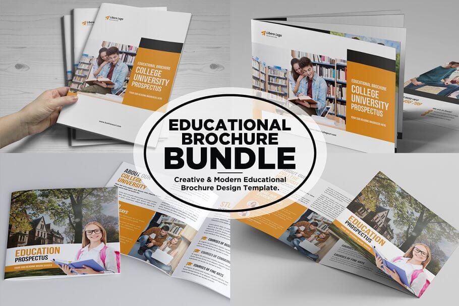 Education Prospectus Brochure Bundle