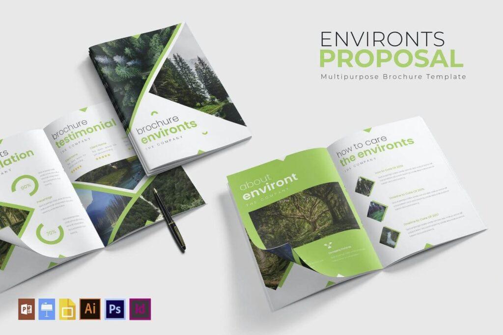 Environts | Brochure Template