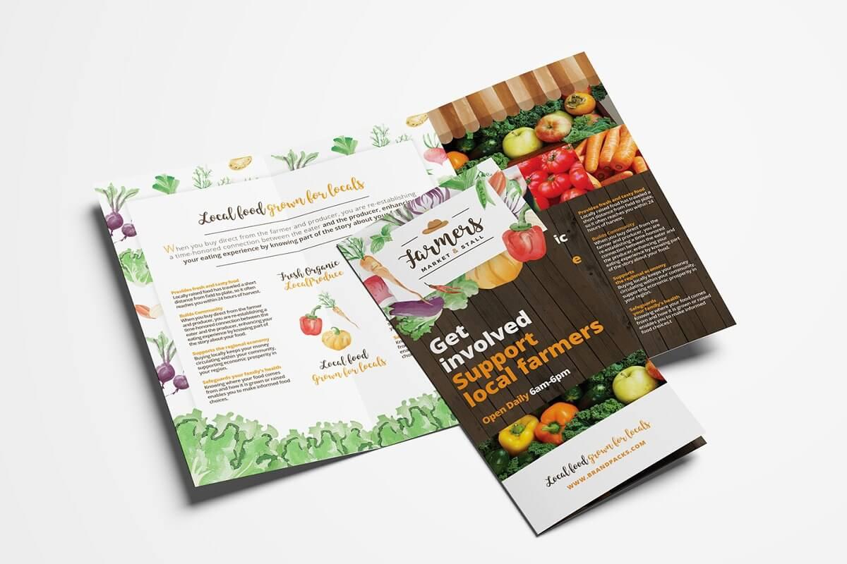 Farmers Market Trifold Brochure (1)