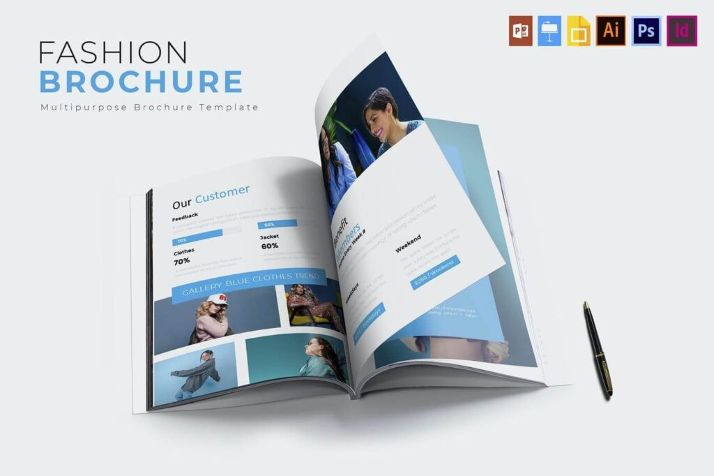 Fashion Clothes | Brochures Template