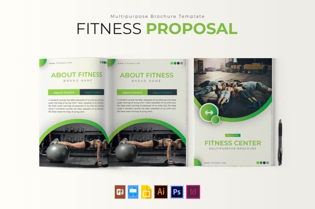 Fitness | Brochure Template