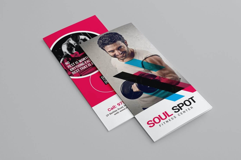 Fitness Tri-Fold Brochure (3)
