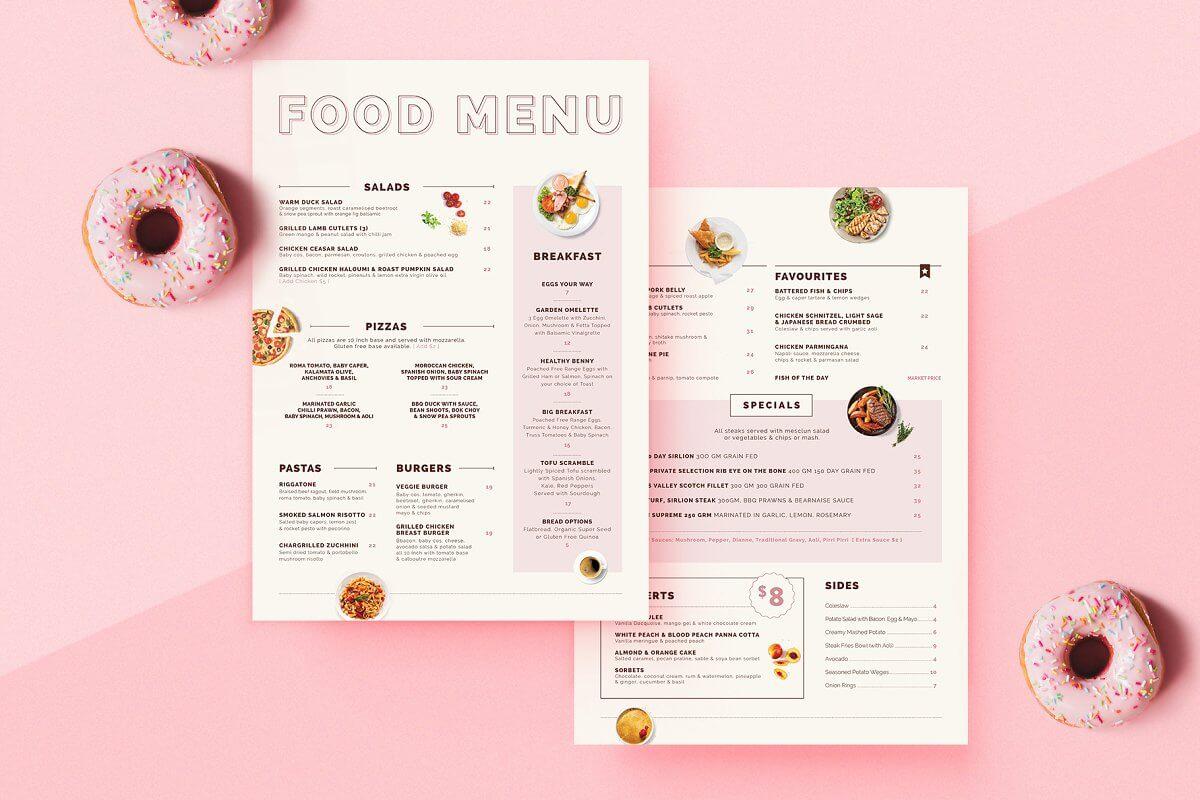Food Menu Design (1)