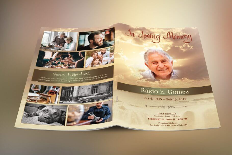 Forever Funeral Program Template (1)