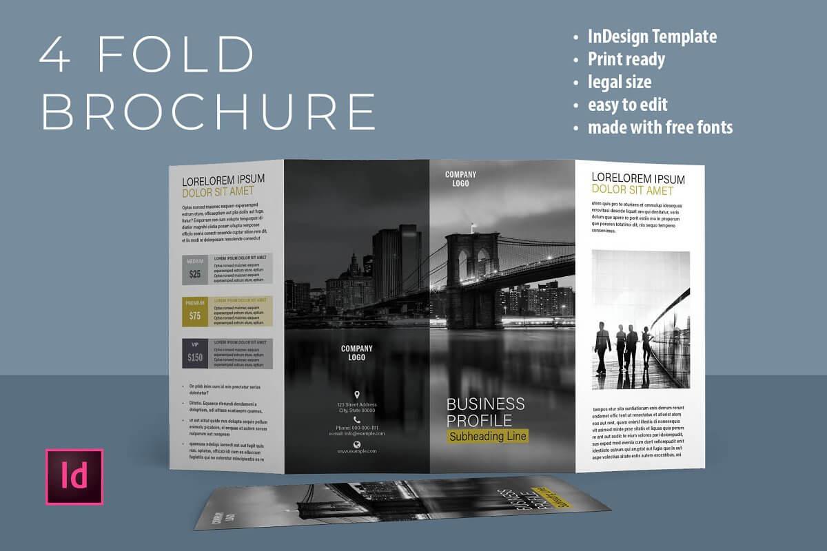 Four Fold Brochure Template (2)