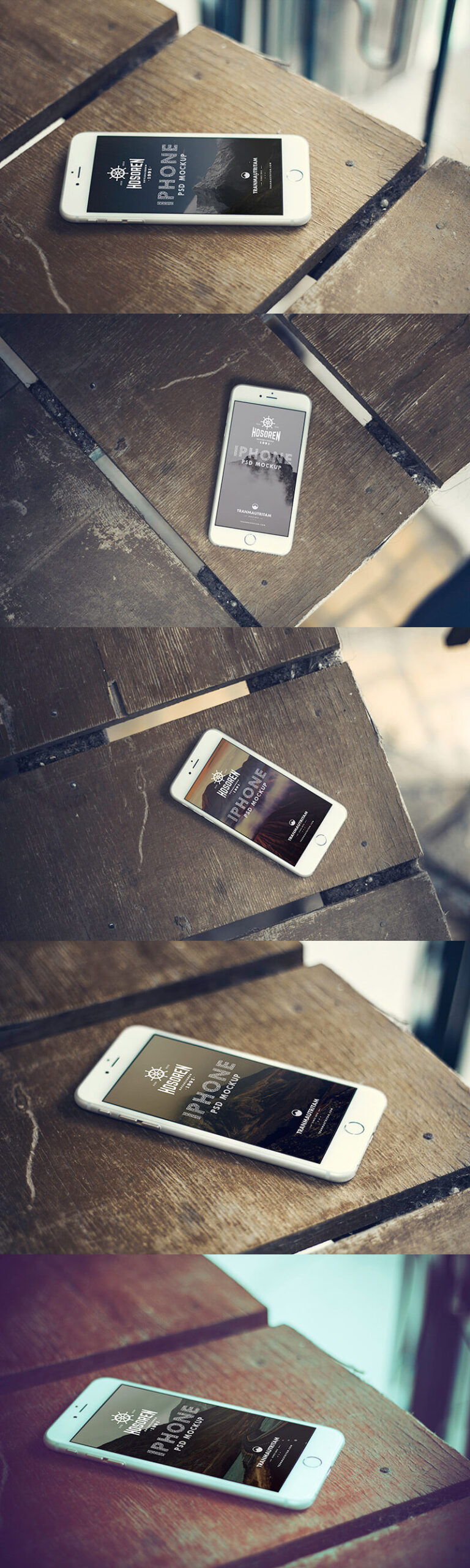 Free 10 iPhone 6 Mockups PSD Template3