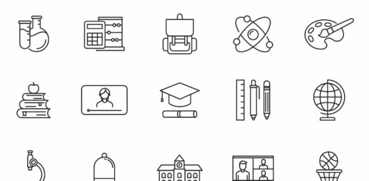 Free 20 Back to School Vector Icons