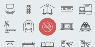 Free 20 Train Station Vector Icons