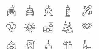 Free 80+ Celebration & Party Vector Icons