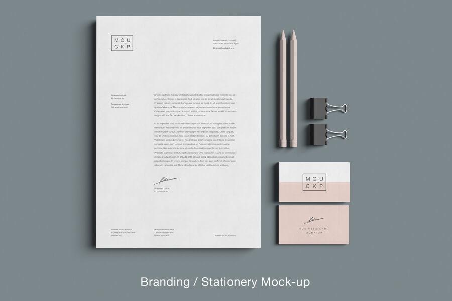 Free Advanced Branding Stationery Mockup PSD Template1