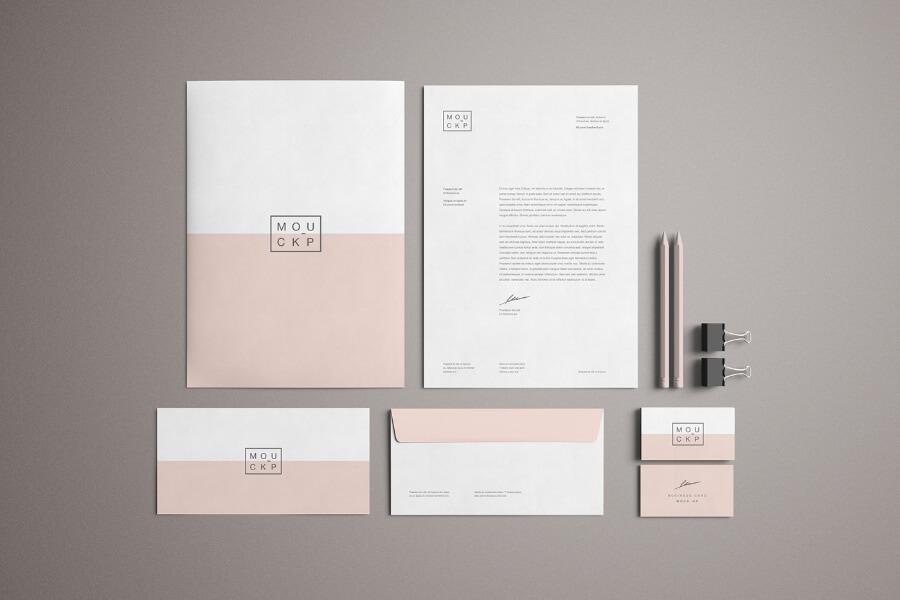 Free Advanced Branding Stationery Mockup PSD Template2
