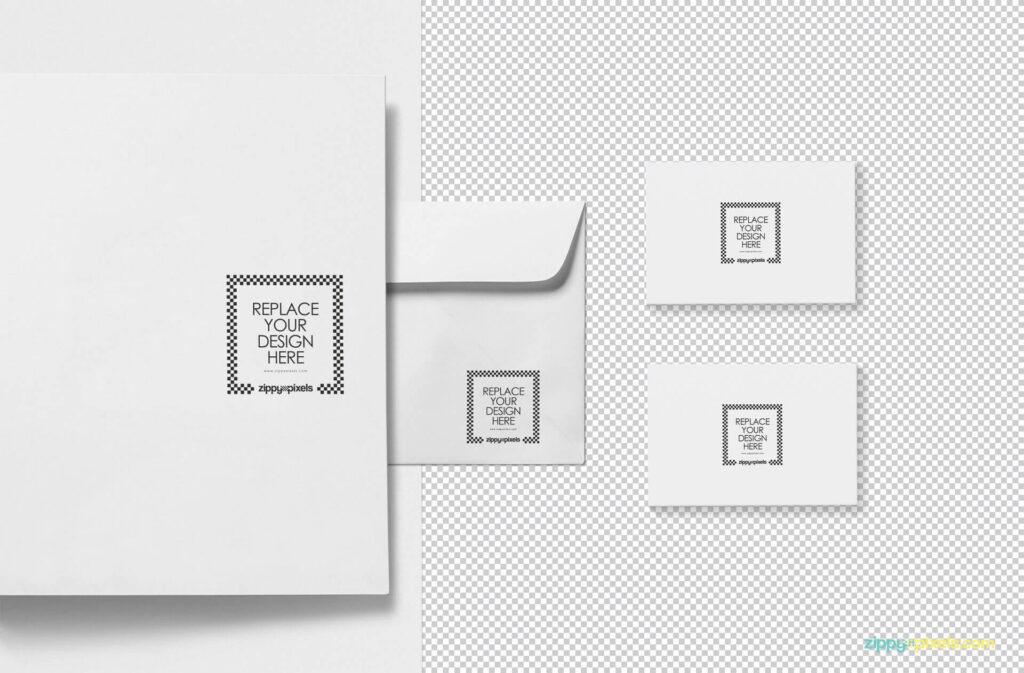 Free Beautiful Brand Identity Mockup PSD Template2
