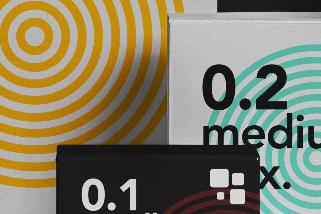 Free Branding Packaging Box Mockup Set PSD Template2