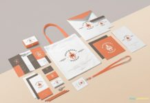 Free Business Stationery Mockup Design