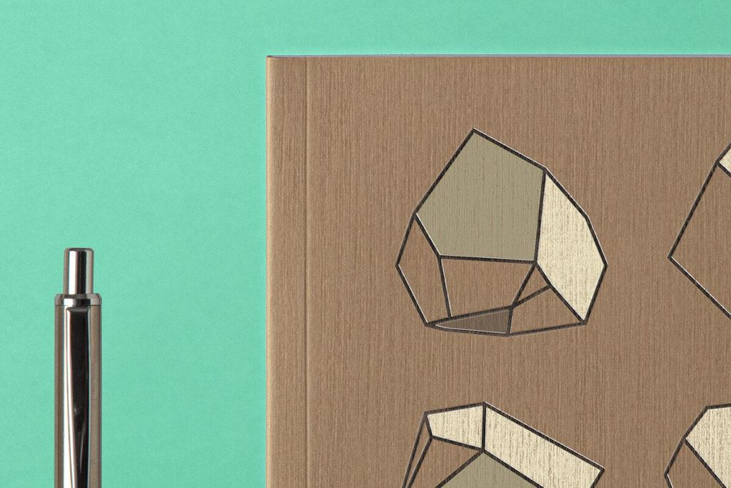 Free Cover Kraft Notebook Mockup PSD Template2
