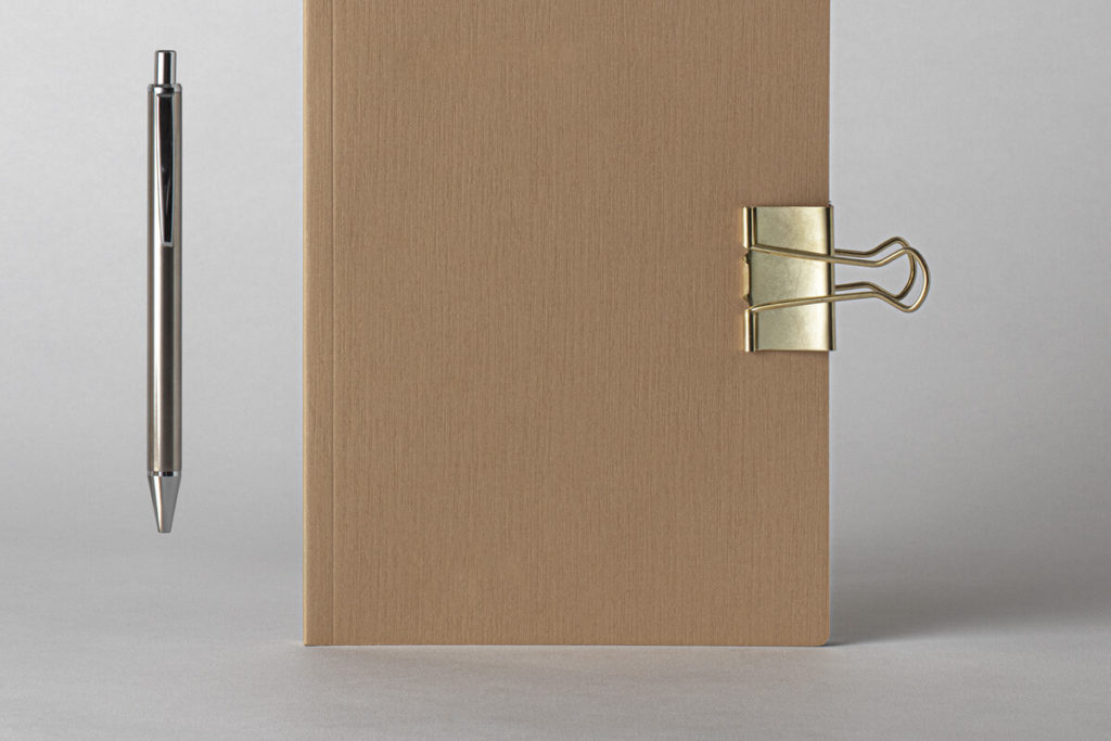 Free Cover Kraft Notebook Mockup PSD Template5