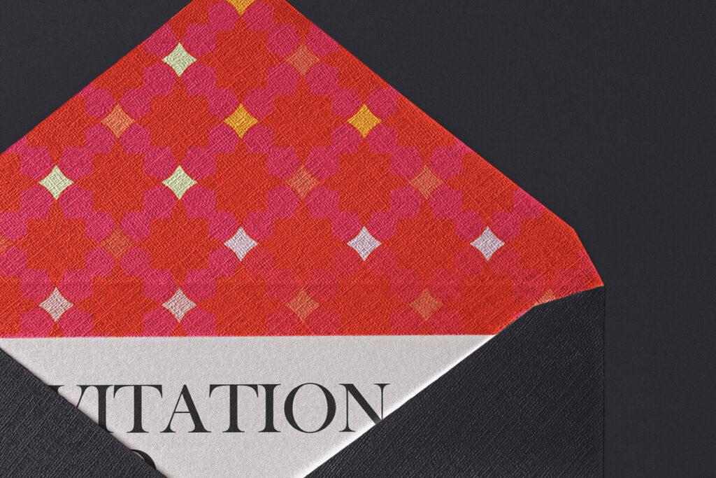 Free Elegant Invitation Envelope Mockup Set PSD Template2