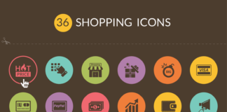 Free Exclusive 30+ Shopping Vector Icons