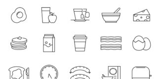 Free Fabulous 20+ Breakfast Vector Icons