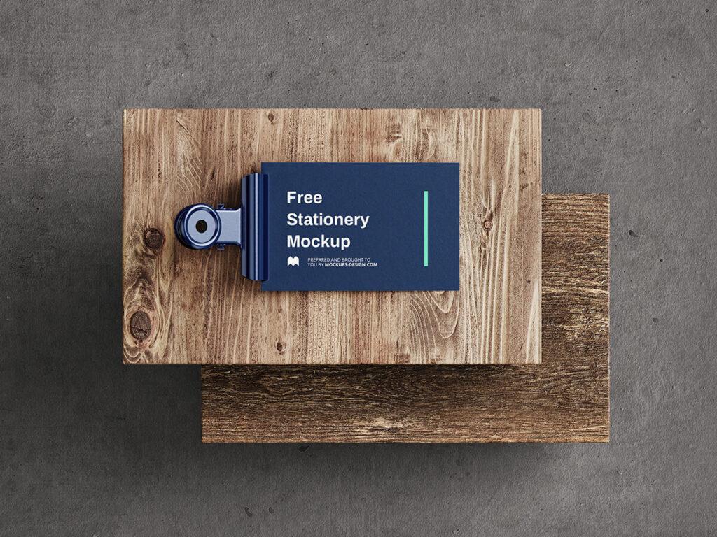 Free Fancy Stationery Mockup PSD Template4