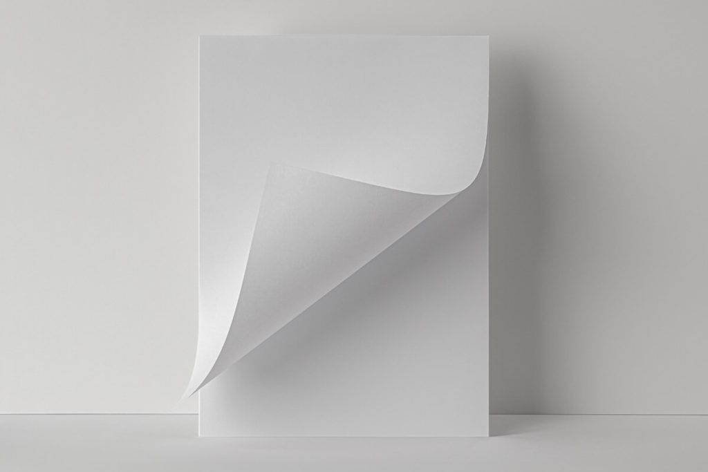 Free Folded Letter PSD Template Paper Mockup 4