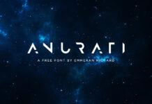 Free Futuristic Anurati Font1