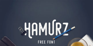 Free Hipster-Style Hamurz Font1