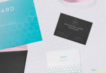 Free Invitation Mockup PSD