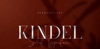 Free Kindel – Serif Font1